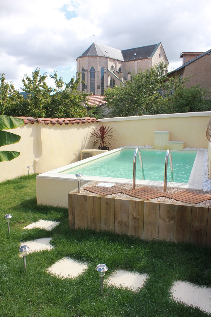 Mini piscines grande tendance icone magazine for Installation piscine enterree