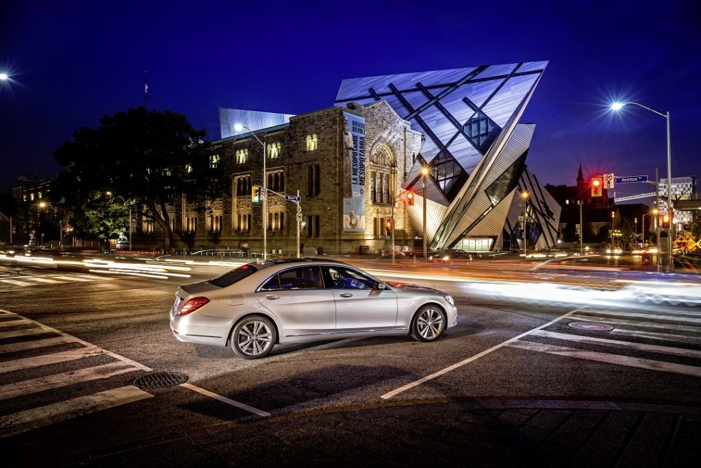 Mercedes-Benz S-Klasse, S 500, Fahrvorstellung in Kanada (2013), Exterieur ; Mercedes-Benz S-Class, S 500, driving experience in Kanada (2013), exterior;
