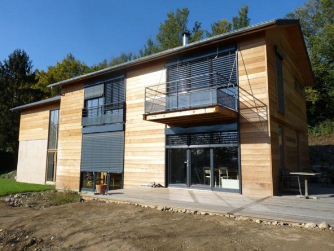 La construction passive icone magazine for Maison bioclimatique